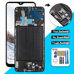 6,7 ЖК-дисплей для Samsung Galaxy A70 2019 A705 A705F SM-A705F A705DS ЖК-дисплей сенсорный экран дигитайзер сборка  рамка