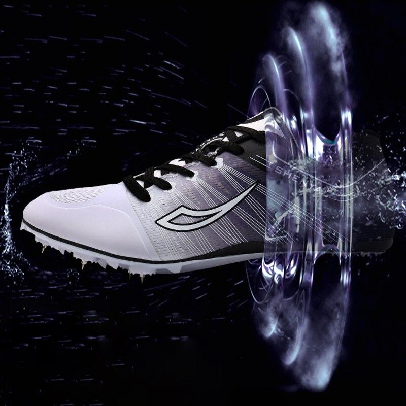 2019 nouveaux hommes chaussures de Sport en plein air chaussures de Sport léger Feiyue chaussures de Sport noir femmes pointes chaussures d'athlétisme formation