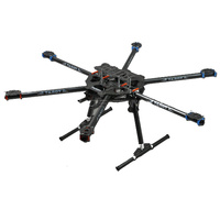 Tarot FY680 3K Carbon Fiber Fully Foldable Hexacopter FPV Aerial frame TL68B01 For Aircraft RC Photography 16%OFF