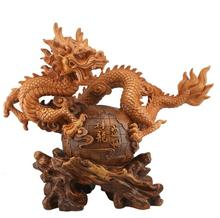 The source of Honghua Dragon Dragon Spirit Animal Totem dragon resin handicraft decoration decoration Home Furnishing dragon