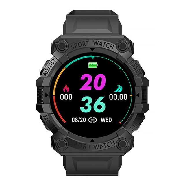 FD68S Smart Bracelet Rechargeable 150mAh Sleeping Sports Watch Pedometer TPU Heart Rate Blood Pressure Detector 2