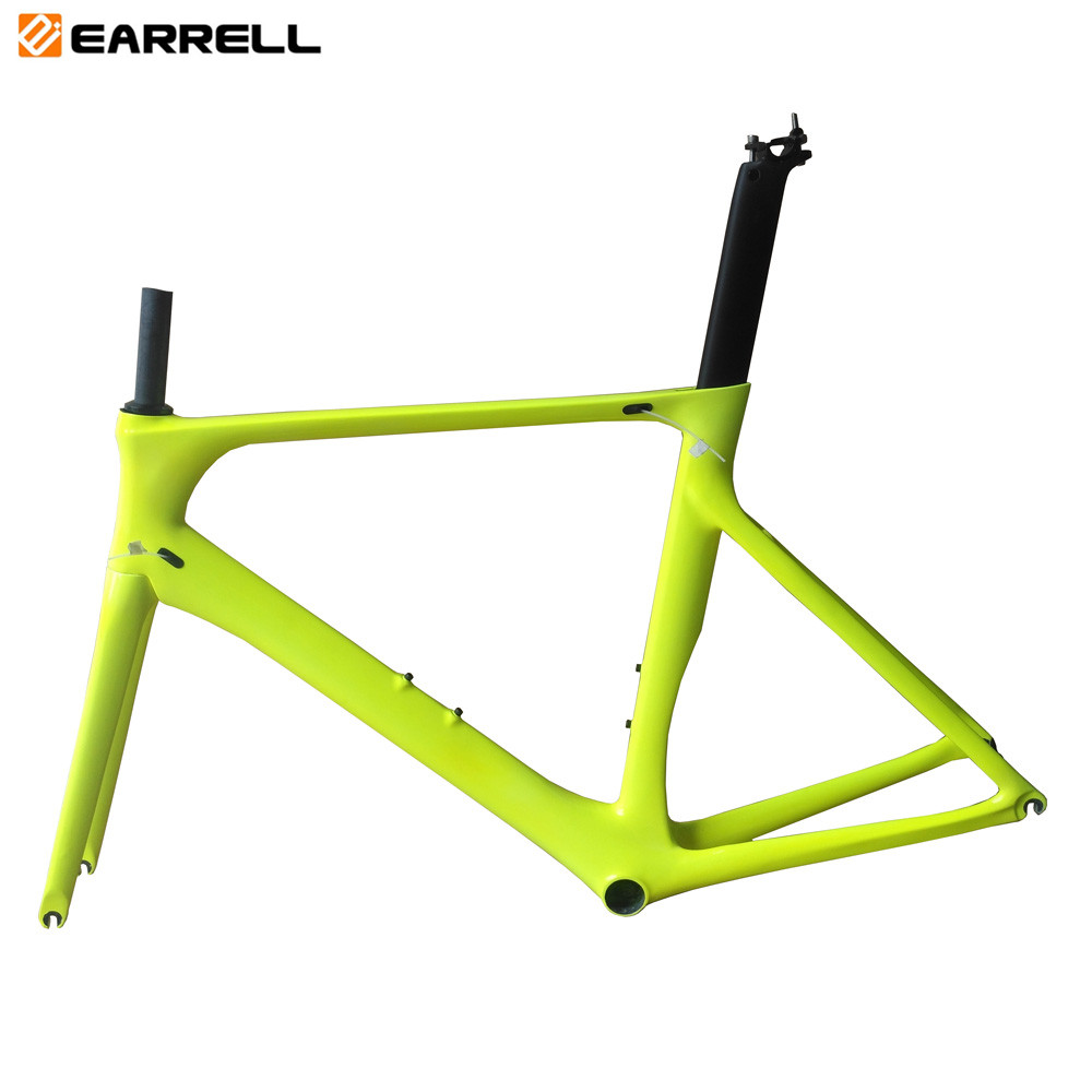 T1000 Carbon Road Bike Frame BSA Carbon Racing Bicycle Frames With Fork Seatpost