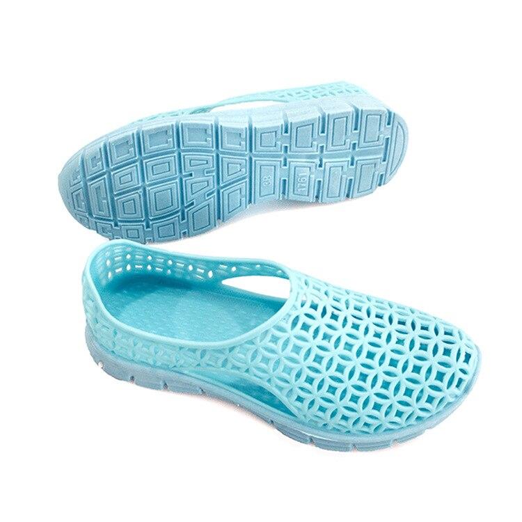 Купить сандалии женские с круглым носком повседневная дышащая обувь