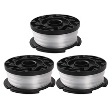 3 Pack Trimmer Replacement Spool for BLACK+DECKER AF-100-3ZP 30Ft 0.065 Inch Trimmer Line