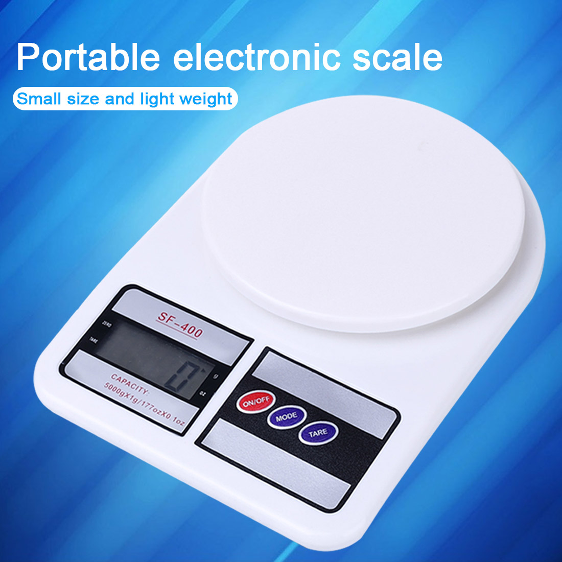 Precise Home Electronic Scale 5/7/10kg 1g LCD Display Electronic Bench Weight Scale Kitchen Cooking Measure Tools Digital Scale