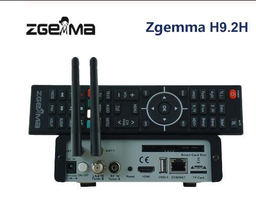 Lo nuevo en la versión ZGEMMA H9.2H Linux OS Enigma2 Digital 4K UHD receptor de satélite DVB-S2X + DVB-T2/C/Doble sintonizador con WiFi interno