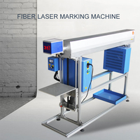 31 degrees carbon dioxide optical fiber assembly line laser marking machine wood plastic automatic engraving code CO2 carving