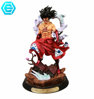 Anime One Piece Luffy GK Fourth gear snake man form PVC Action Figure Toys Decoration Models