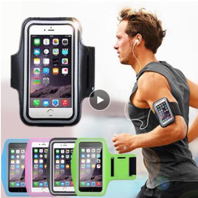 Спортивный чехол для телефона на руку для занятий спортом, для телефона бег мобильный телефон рука сумка Велоспорт Arm с Huawei Iphone большой сенс...