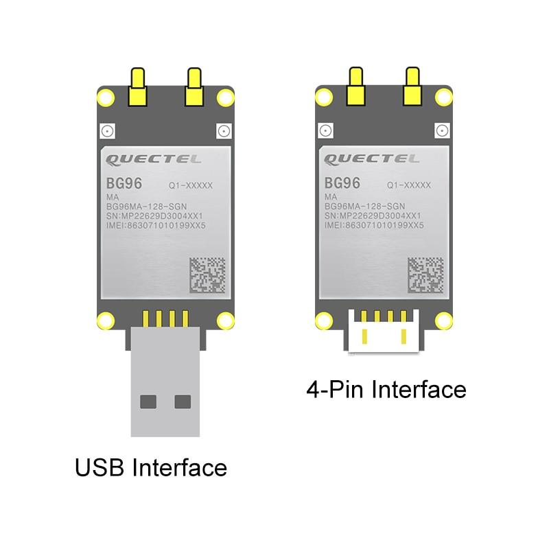 BG96 USB Dongle BG96MA-128-SGN Development Kit 4PIN  UART LTE Cat.M1/NB1 & EGPRS Module NBIOT Modem Pin To Pin EG91/EG95 GPS