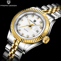 PAGANI Relogio Feminino 2019 Women Watches Gold Diamond Role Bracelet Female Quartz Clock Luxury Brand Elegant Girls Wrist Watch