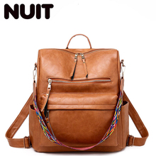 Women Pu Leather Backpack Bagpack Students Fashion School Back Pack Bag Backpacks Bags Teenagers Girls Vintage Backpack Bags