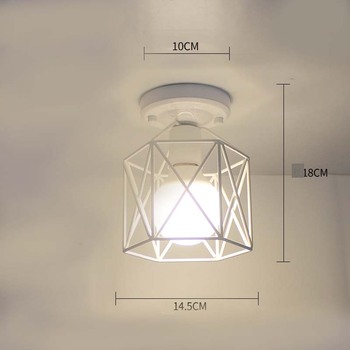 Ceiling light ceiling lamp iron living room lights modern deco salon for dining room hanging led light fixtures surface mounted 12