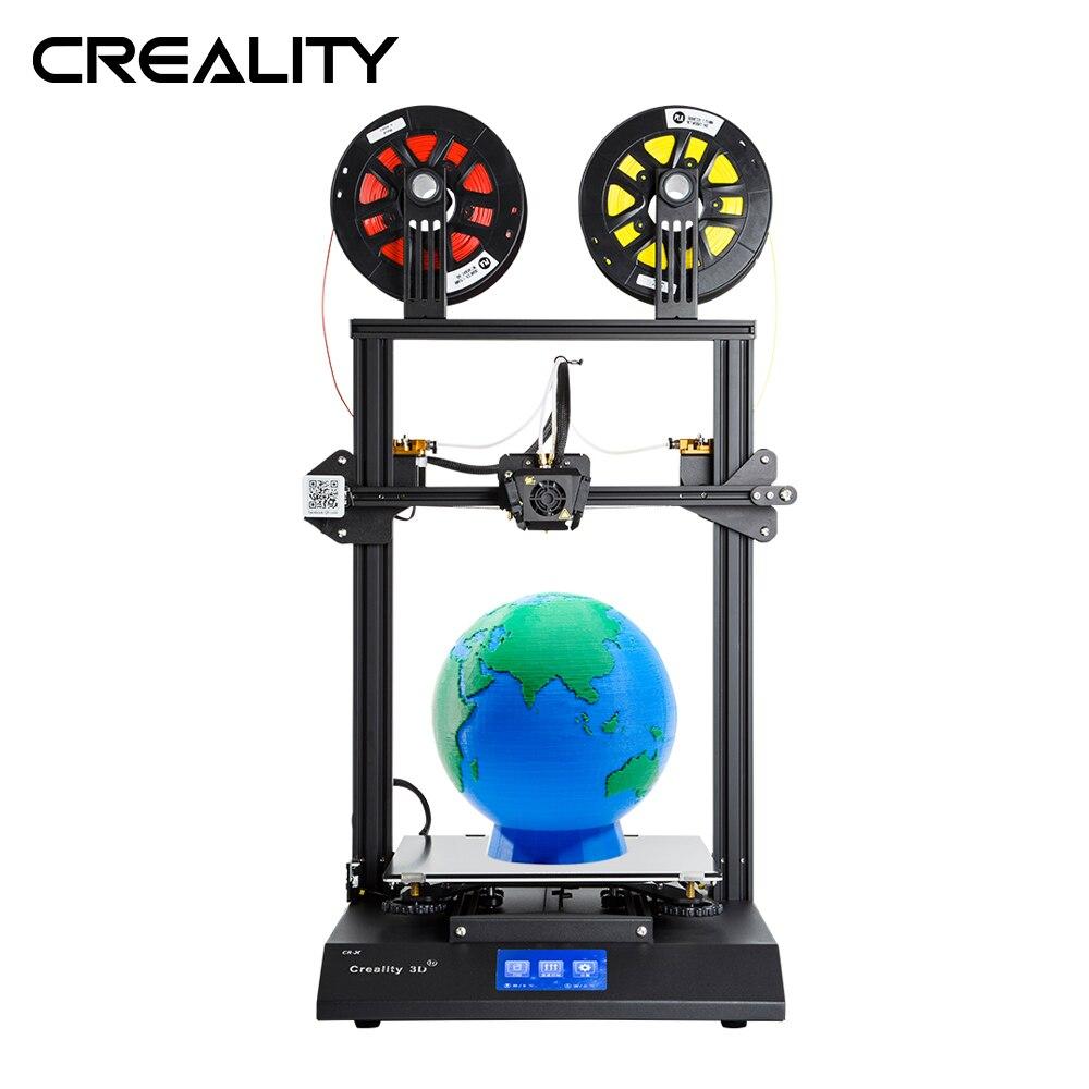 CREALITY 3D CR-X Dual Hotend Kit 4,3-zoll Touch Screen 3D Drucker Mit 2KG Freies PLA Filament