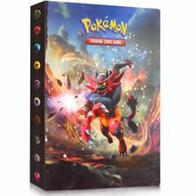 Album de cartes Pokemon, livre de cartes de jeu, dessin animé TOMY, collection, porte-classeur, liste de chargement supérieure, jouets, cadeau pour enfants, 240 pièces