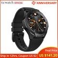 Смарт-часы Ticwatch S2  Bluetooth  GPS  водонепроницаемые  5 АТМ  24 часа  монитор сердечного ритма