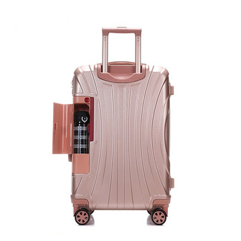 цена на Spinner Wheels Rolling Luggage PC trolley Suitcase Carry on Password Business Travel Luggage for Women men mala de viagem