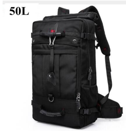 Brand KAKA 50L Men backpack travel luggage Backpack 17 inch Laptop backapck bag for man Travel Bag rucksack For Men day pack