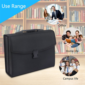 Image 5 - MyLifeUNIT 26 Pockets Expanding File Folder Organizer Briefcase Waterproof Business Filing Box with Handle Office Supply
