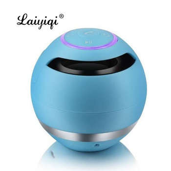 Laiyiqi newest popular Bluetooth Wireless Speakers altavoz ultra mini portable mp3 music bocinas Column alto falante ur3 fan image