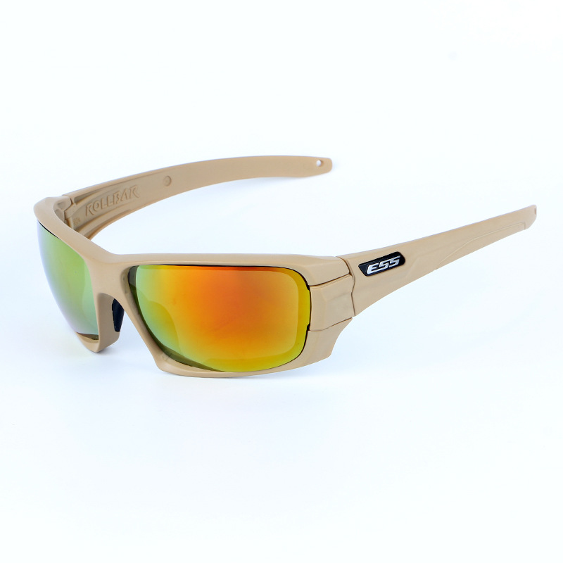 Rollbar Outdoor Glasses For Riding CS Tactical Explosion-Proof Shooting Eye-protection Goggles Polarized Light 4 Lens