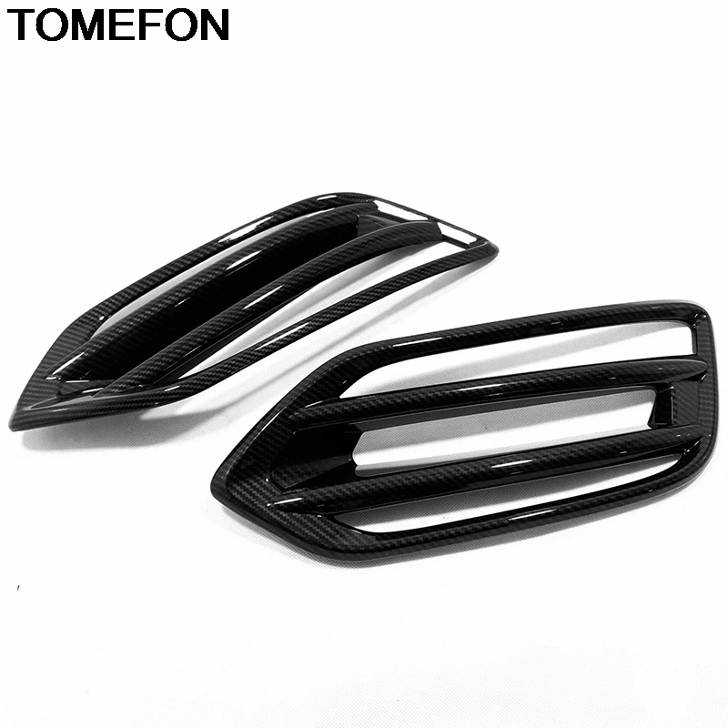 TOMEFON For <font><b>Honda</b></font> HR-V <font><b>HRV</b></font> Vezel 2019 Car Front Fog Light Lamp Foglight Decoration Sticker Cover Trim Exterior <font><b>Accessories</b></font> ABS image