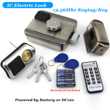 Gate-Opener Rfid-Reader Door-Lock Electric Lock-Key Access-Control Aa-Battery DC12V