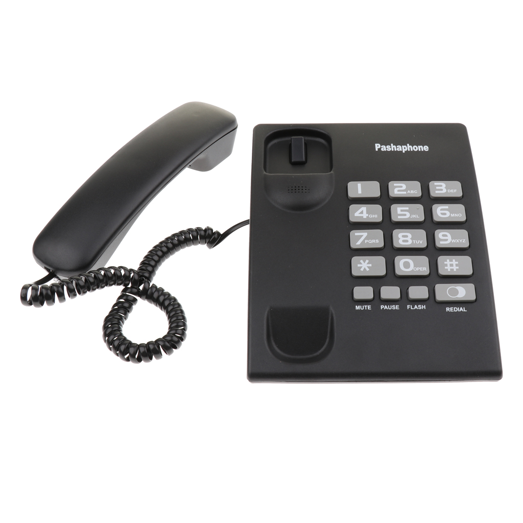 Ultimate Deal┤Mini Corded Phone Home Office Hotel Business Telephone Wall Hanging≡