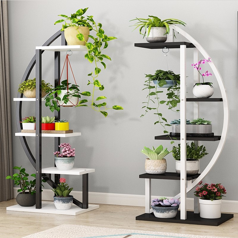Multi-storey Indoor A Living Room Chlorophytum Frame Bedroom Household Province Space Balcony Decorate Shelf To Ground
