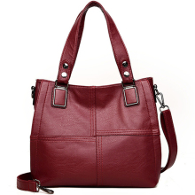 Leather Luxury Handbags Women Bags Designer Famous Brands Plaid Ladies Shoulder Hand Bags For Women Big Casual Tote Sac A Main