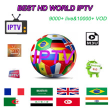 Best IPTV Arabic French Spain USA Sports Adult 18+ Movies 5000+ Live 10000+ VOD Android APK MG Smart TV Subscription IPTV M3U(China)