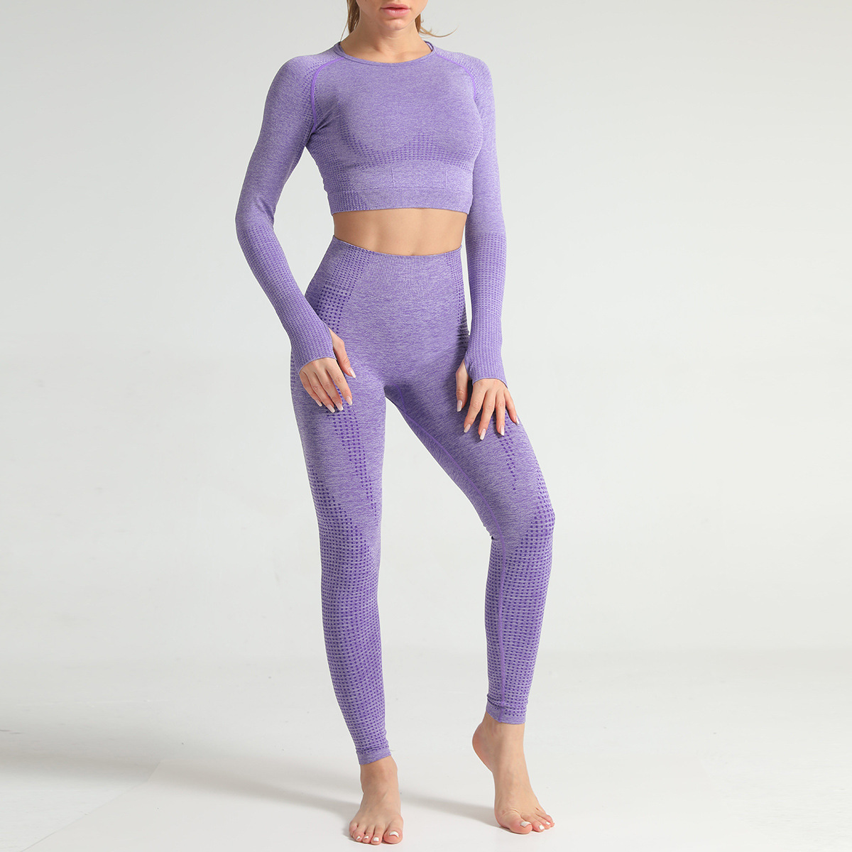 Purple Shirt Pants