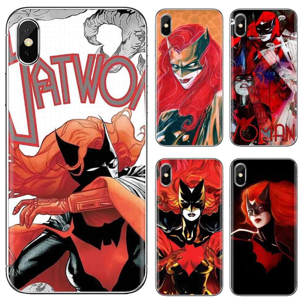 Batwoman wallpapers collage silicone caso do telefone para o iphone 11 pro 4 4S 5 5S se 5c 6 s 7 8x10 xr xs mais max para ipod touch