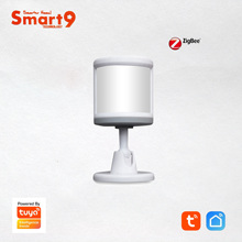 Smart9 ZigBee PIR Sensor With Foot Stand Motion Detect working with TuYa ZigBee Hub, Human Body Movement Detect, Powered by TuYa
