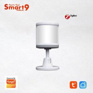 Image 1 - Smart9 ZigBee PIR Sensor With Foot Stand Motion Detect working with TuYa ZigBee Hub, Human Body Movement Detect, Powered by TuYa