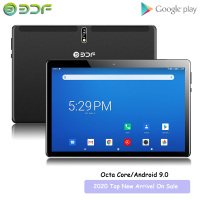 2020 New Android 9.0 10.1 inch Tablets 2GB+32GB Octa Core 3G 4G LTE Dual SIM Phone Call IPS Tablet WiFi GPS 10 9 inch PC Google
