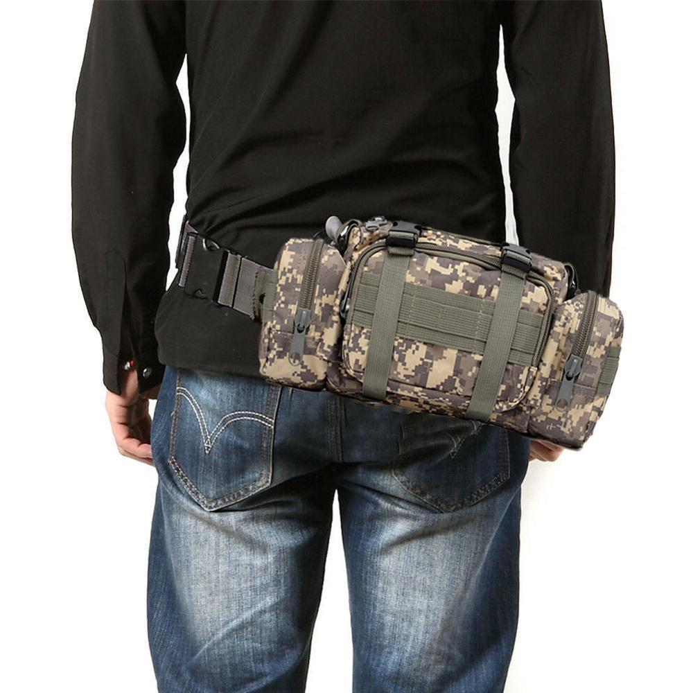 Tactical Men Messenger Bags 3P Magic Military Shoulder Pack Waist Bags Outdoor Sports Belt Pocket Multifunctional Bag