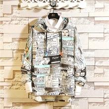New Mens High Quality Social Hoodie Brand Casual Trend Slim Japanese Street Anime Long Sleeve Warm Sweatshirt