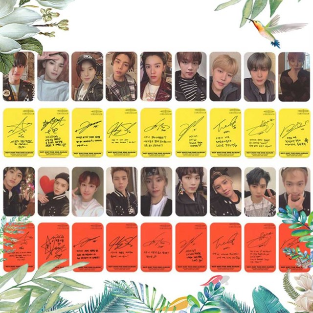 9PCS/Set Kpop NCT 127 Neo Zone New Album Photocard  2