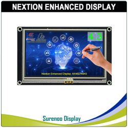4,3 NX4827K043 Nextion Enhanced HMI USART UART серийный резистивный сенсорный TFT ЖК-модуль панель дисплея для Arduino Raspberry Pi