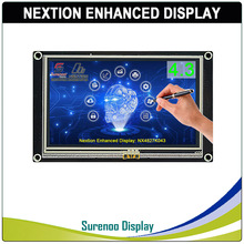 "4.3 ""NX4827K043 Nextion Gelişmiş HMI USART UART Seri Rezistif Dokunmatik TFT LCD modül ekran Paneli Arduino Ahududu Pi için"