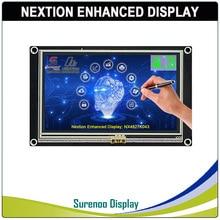 "4.3 ""NX4827K043 Nextion تعزيز HMI USART UART المسلسل مقاوم اللمس TFT وحدة عرض LCD لوحة لاردوينو التوت بي"