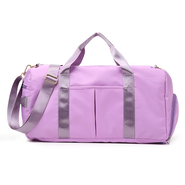 Details about  /Women/'s Nylon Sports Gym Bags Yoga Mat Sport Bag For Fitness Training Traveling