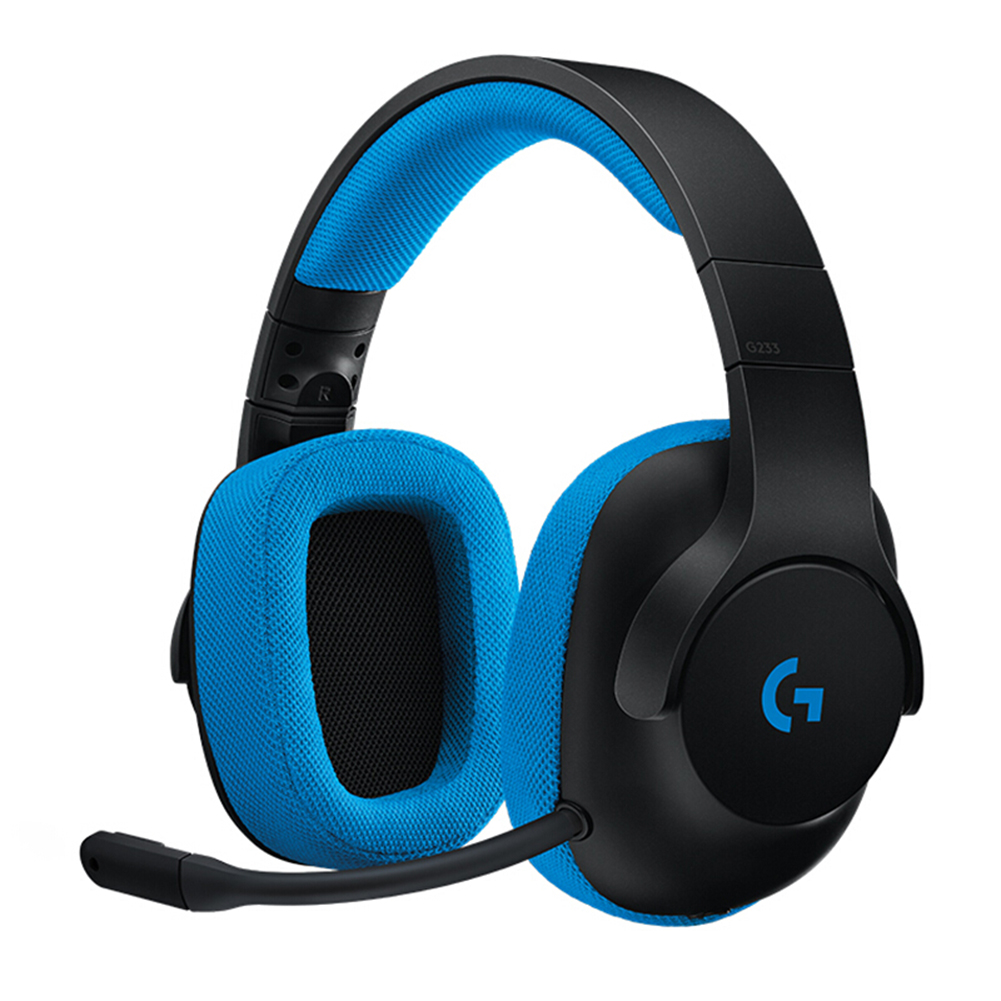 Logitech G233 PRODIGY 3.5mm Wired Headset Over-Ear Gaming Headphone W/ MIC