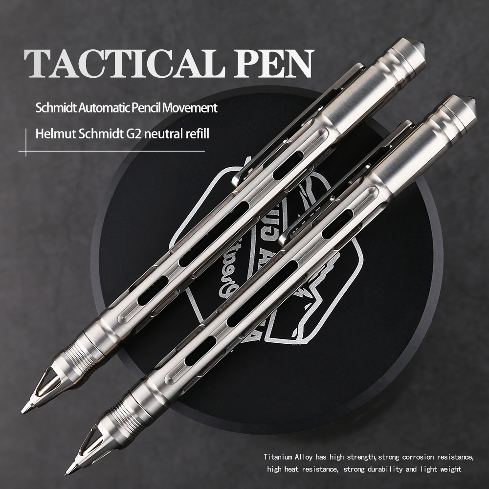 Self Tool EDC Business 1 Tactical Pen Defense Titanium TC4 Pen Writing 2 Outdoor  IN Gift