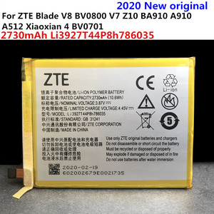 Image 4 - 2020 New 2540mAh Li3925T44P8h786035 Battery For ZTE Blade V7 Z10 BA910 A910 A512 Xiaoxian 4 BV0701 Batteries