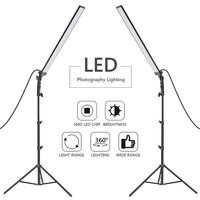 Neewer 60 LED Light Studio LED Lighting Kit 2 Packs Light Wand Handheld LED Video Light Stick 5500K with Adjustable Brightness
