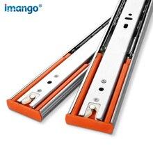 цена 1 Pair (2pcs) Stainless Steel Drawer Slides 12-22