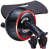 Kay скоростной упругий силовой ролик брюшное колесо для мужчин и женщин фитнес оборудование для мужчин t бытовой тонкий живот ABS фитнес спорт...