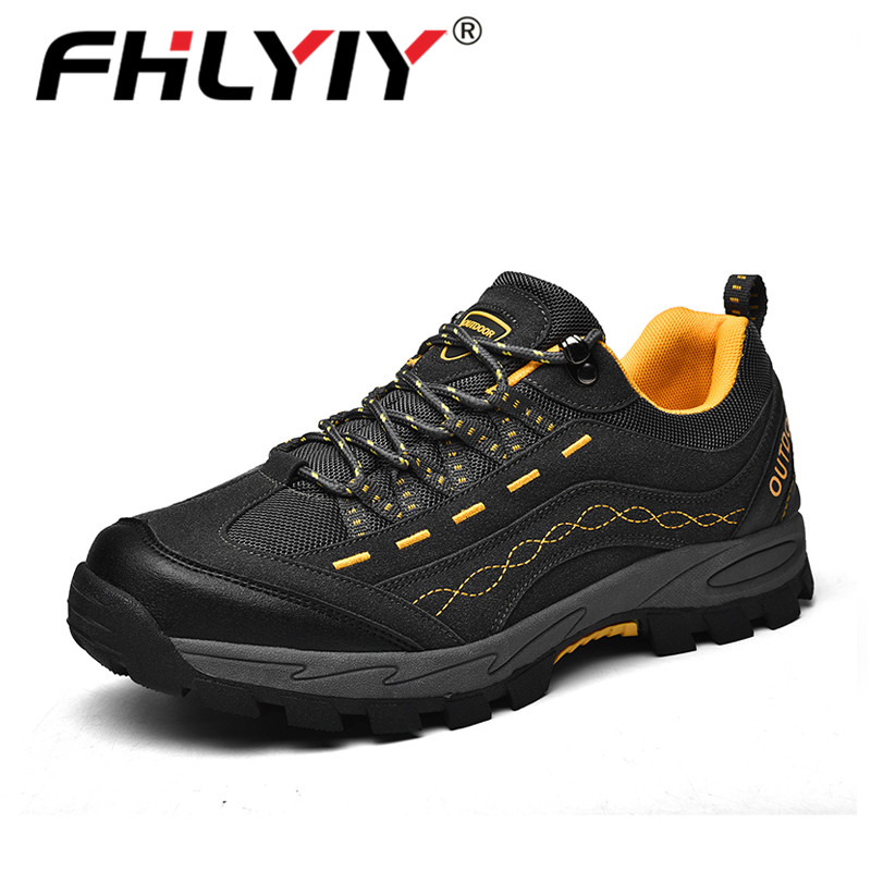 Fhlyiy 2020 New Spring Autumn Sneakers Men Shoes Casual Outdoor Comfortable Mesh Breathable Male Footwear Non-Slip Shoes Size46
